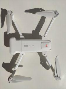 Fimi x8, vu de haut et avec batterie