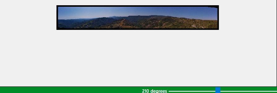 Modification de la largeur en degrés