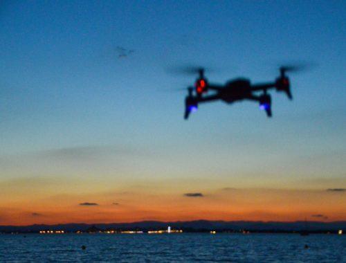 premier vol en drone