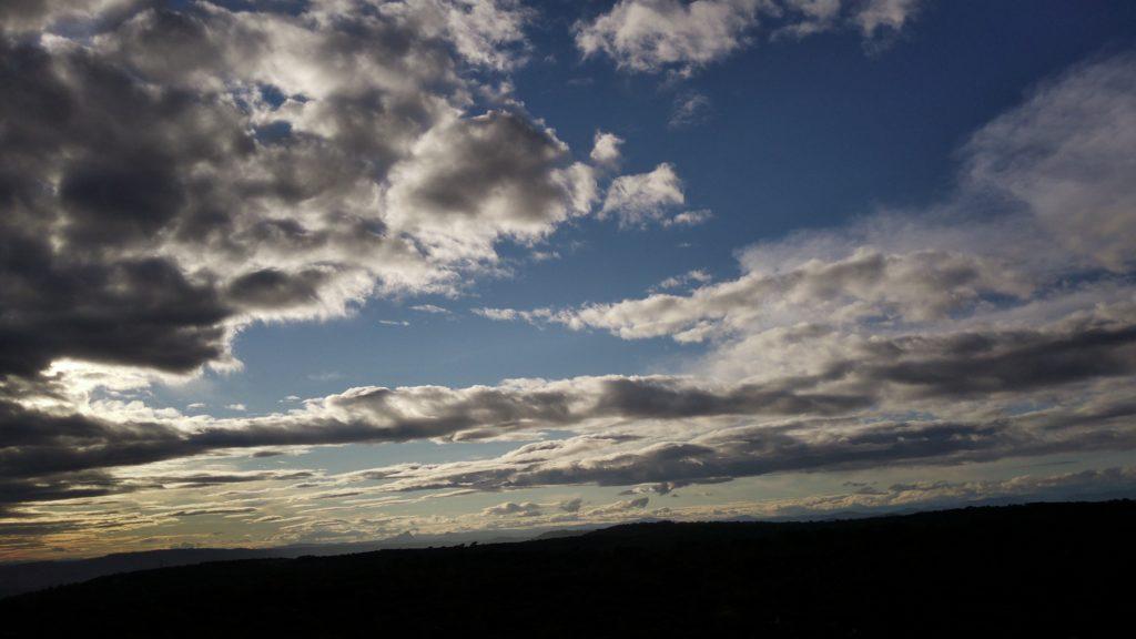 Photo du ciel nuages fimi x8 se 2020