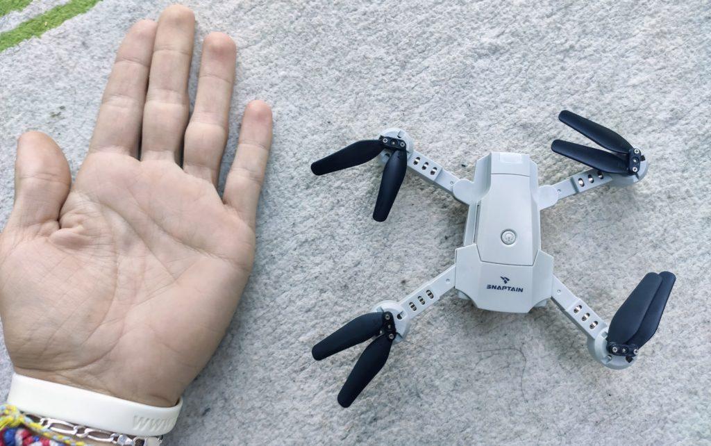 Drone déplié Snaptain A10