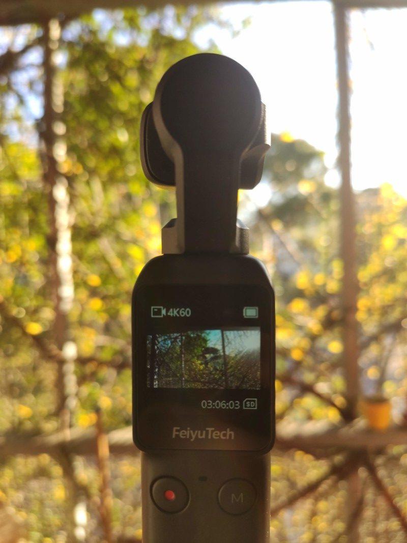 Test de la Feiyu Pocket : caméra stabilisée 6 axes 4K