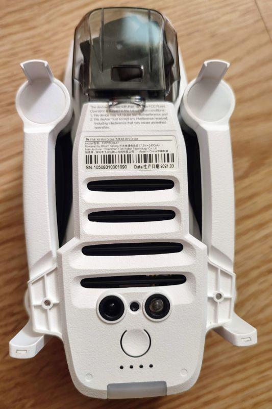 fimi x8 mini capteurs